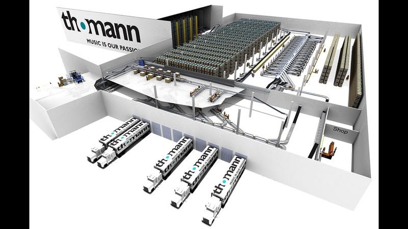 THOMANN Neues Logistikzentrum für eCommerce Riesen german