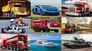 Изучаем Транспорт Развивающее Видео для Самых Маленьких Мультики про Машинки для Детей