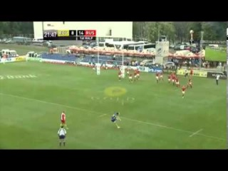 IRB Nations Cup 2013. Round 1. Romania 30:20 Russia. Highlights