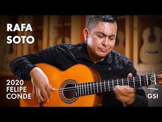 "The Eagles' ""Hotel California"" performed by Rafa Soto on a 2020 Felipe Conde ""Reedicion 1975"""
