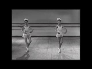 ФильмОсновы классического танца 1967 - Па-де-Бурре - Pas de Bourree, VK: #урокиХореографии