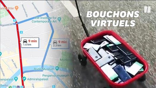 Il a détraqué Google Maps avec une technique toute simple Vidéo dailymotion