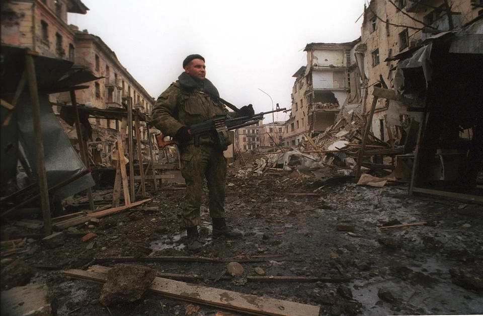 До 30 декабря потери были 7 человек с обеих сторон. И если бы не штурм Грозного, обошлись бы малой кровью. Фото: Владимир ВЕЛЕНГУРИН