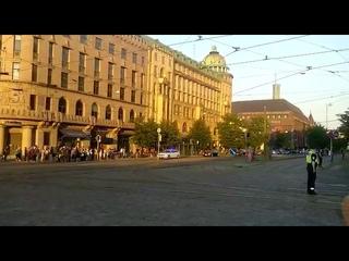 Putin's cortege Helsinki  Кортеж Путина Хельсинки 2018