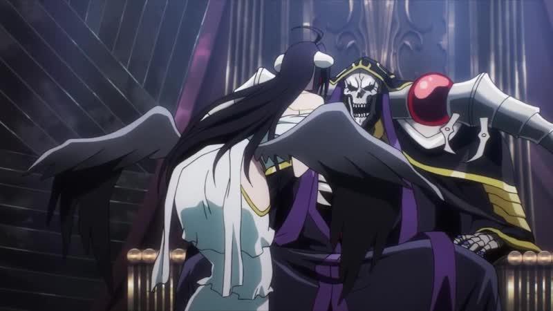 Отрывок из аниме Повелитель - Возбужденная Альбедо (s1e1)