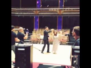 The dance of James and Hannah!