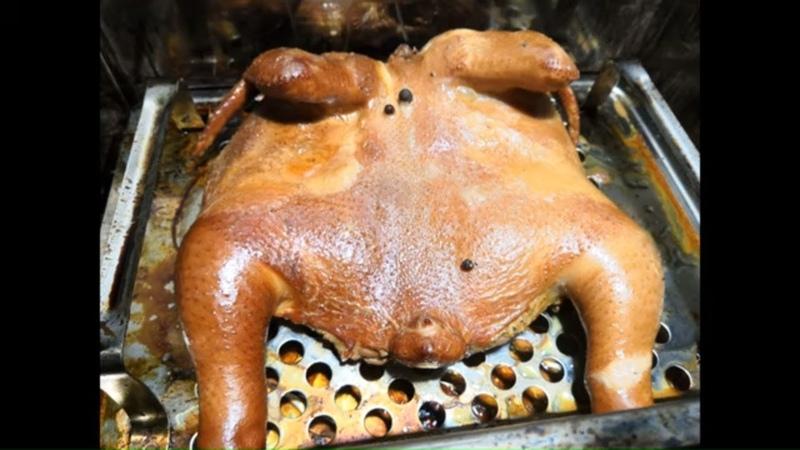 Копчение, Курица горячего копчения в Коптильне Kukmara