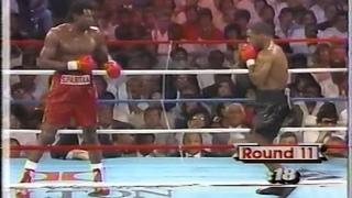 1987-08-01 Tony Tucker - Mike Tyson