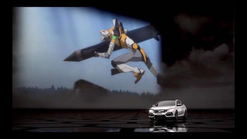 Рекламный ролик CIVIC × EVANGELION Rei