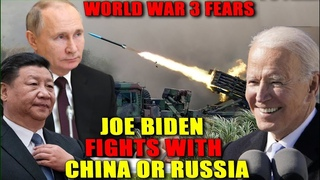 World War 3 fears as expert warns Biden will face all out conflict with Russia or China