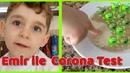 Corona Virüsü Yok eden Mucize ilaç Sabun ve Alkol Testi Yaptık! Emir Virüse Meydan Okudu