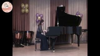 Конкурс молодых пианистов им. Ф.Н. Тютрюмовой. V возрастная группа. II тур. Заборовская Анастасия