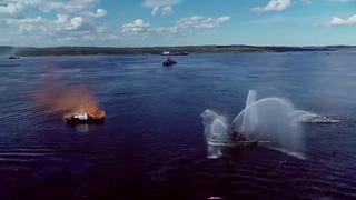 Празднование Дня ВМФ России в Североморске