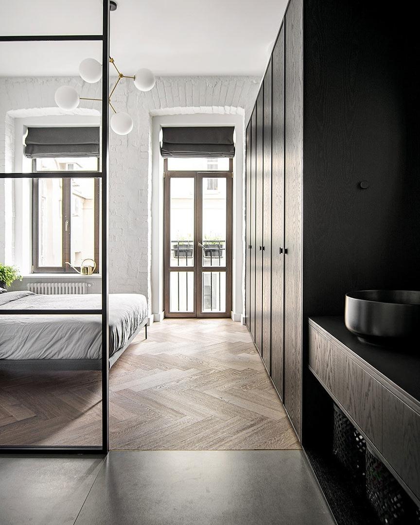 Проект INT2architecture: квартира в московском особняке || 02