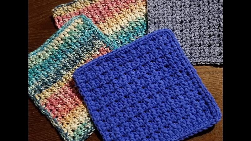 Spritz Cookie Dishcloth Crochet Pattern YarnWars
