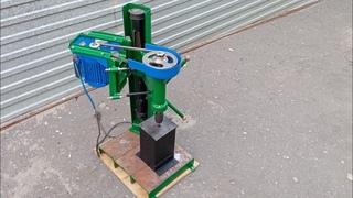 сверлильный станок своими руками. homemade drilling machine