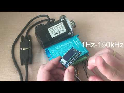 Обзор и подключение Hybrid Step Servo 2HSS57 57J1880EC 1000