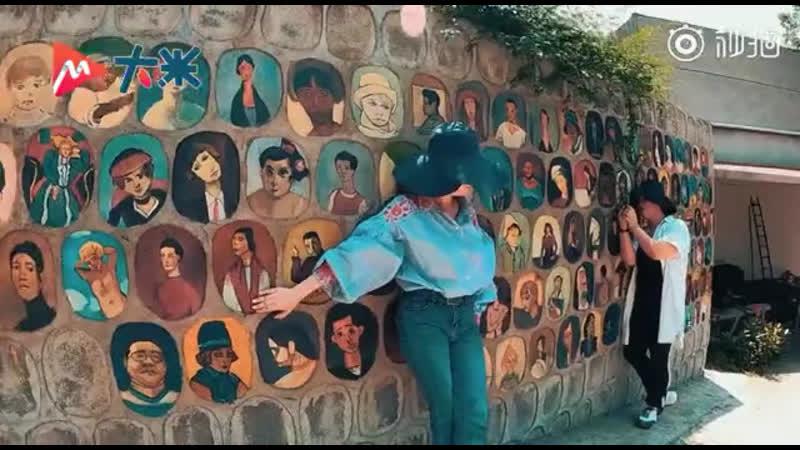 Современный Пикассо! Не возвращаясь в университет из за эпидемии студент за четыре месяца нарисовали стену масляной живописью.