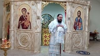 Проповедь владыки Антония в Праздник Благовещения Пресвятой Богородицы