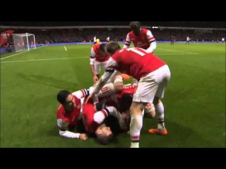 Tomas Rosicky goal against Tottenham FA Cup January 4, 2014 HD