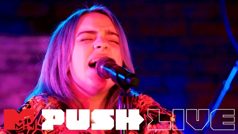 Billie Eilish - Xanny''When The Party's Over' 'Wish You Were Gay (MTV Push Live) | MTV Music
