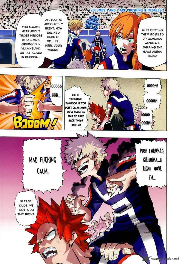 Boku No Hero Academia, Chapter 29, image #1