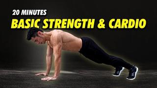 Jordan Yeoh Fitness - Basic Strengthening & Cardio [Level 2!] | Кардио-тренировка без инвентаря в среднем темпе для среднего и продвинутого уровня