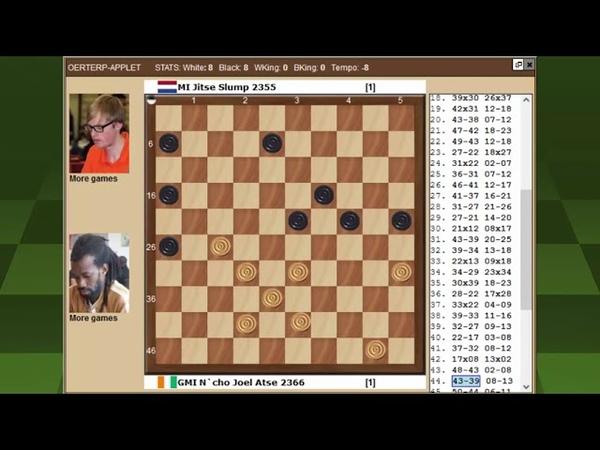 Атсе Слюмп Чемпионат Мира по международным шашкам 2021