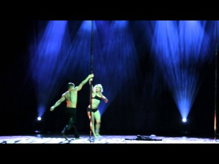 Anna de Carvalho & Saulo Sarmiento - Pole Art 2013 showcase