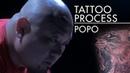 Tattoo Process Popo