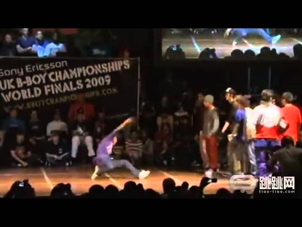 Jinjo vs Endangered Species UK B boy Championships World Final 2009 Semi Final