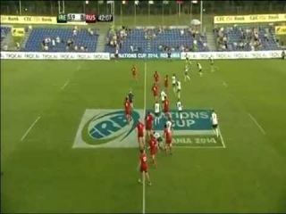 [HIGHLIGHTS] IRB Nations Cup 2014 - Day 1 - Emerging Ireland - Russia