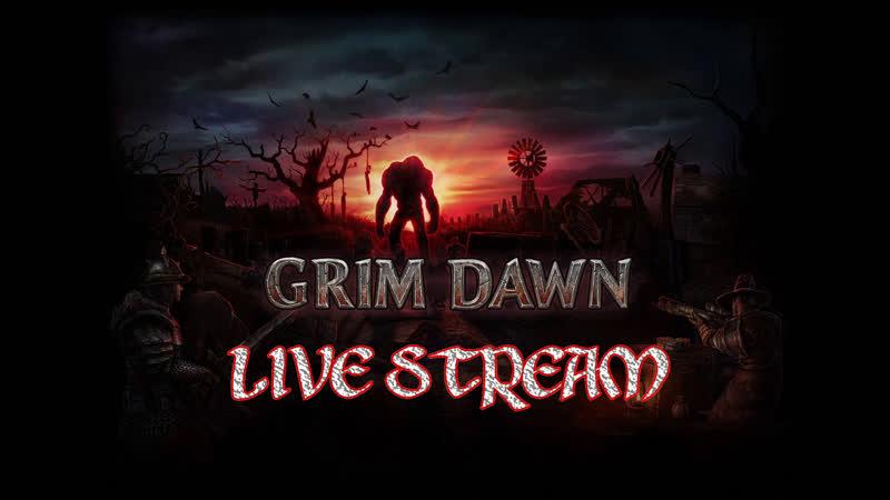 Играем в Grim Dawn за Стрелка Только хед шоты