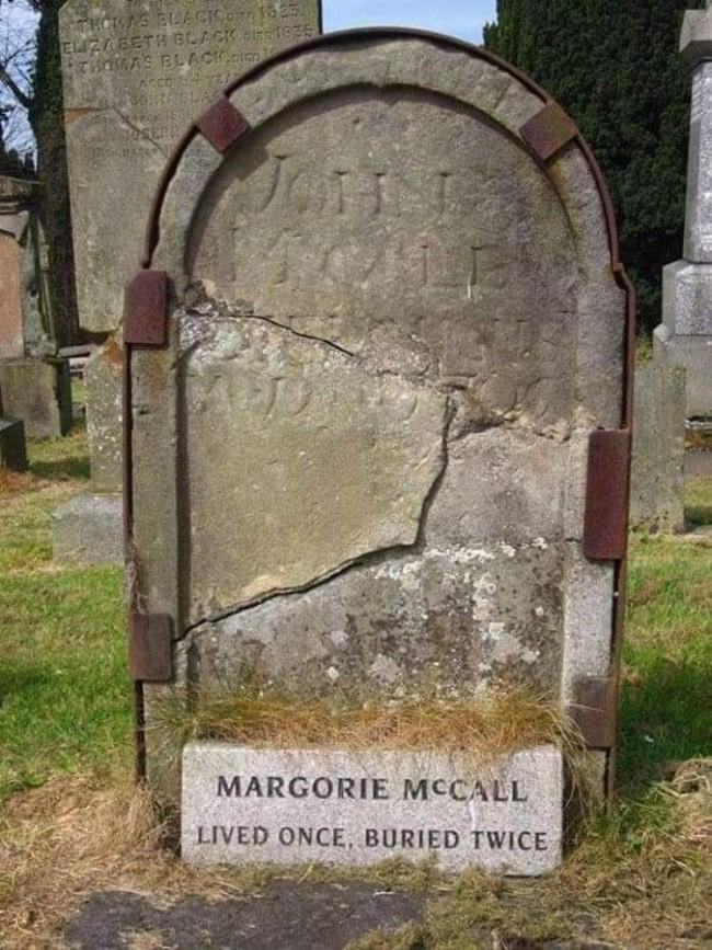 Жила однажды, похоронена дважды
