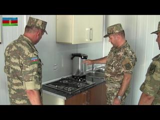 Xocavənd rayonu ərazisində yeni hərbi hissələrin açılışı olub