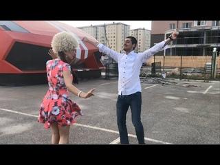 Парень И Девушка Танцуют Очень Красиво В Дагестане 2018 ALISHKA AZARINA Чеченская Песня Любовь