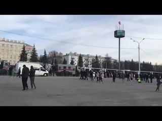 Начало митинга Навального в Уфе