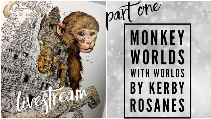 Livestream Part 1 Worlds within worlds Monkey Kerby Rosanes