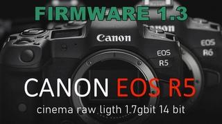 CANON EOS R5 СНИМАЕТ В 14-битное видео НА ФЛЕШКУ.НЕВОЗМОЖНОЕ ВОЗМОЖНО.Canon R5 14bit RAW do not open