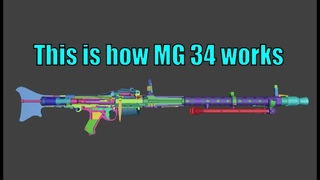 This is how MG 34 works | WOG |