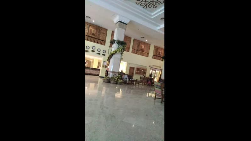 Холл отеля али баба в хургаде