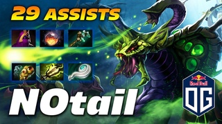 N0tail Venomancer SUPPORT - 29 Assists - Dota 2 Pro Gameplay [Watch & Learn]