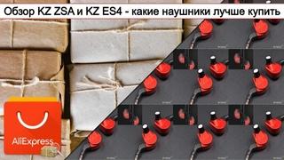 Обзор KZ ZSA и KZ ES4 - какие наушники лучше купить | #Обзор