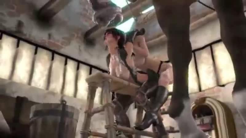Croft porn horse