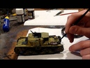 Tamiya Semovente M40-75/18 in 1/35 scale building review Part II