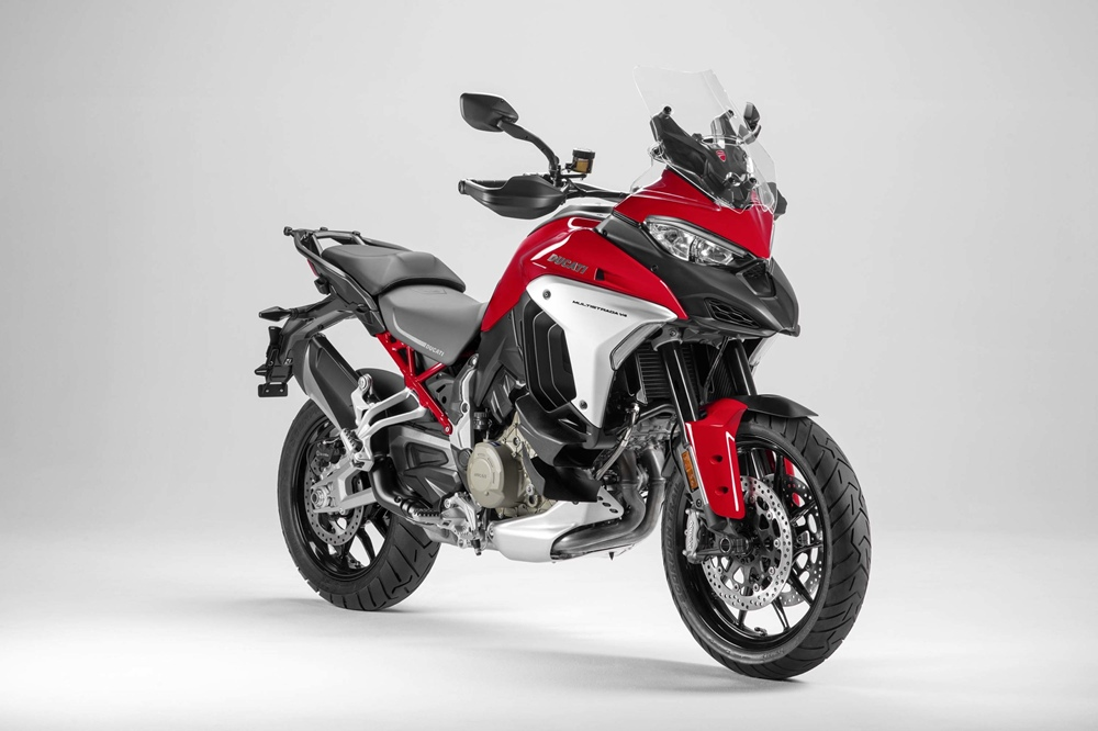 Новый мотоцикл Ducati Multistrada V4 2021