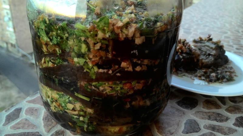 Баклажаны по армянски Магаданоси Eggplants in Armenian for the winter