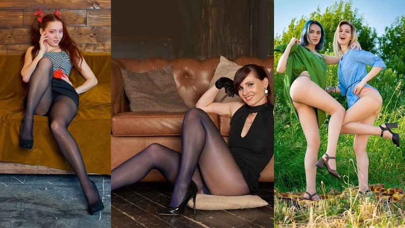 Jeny Smith and Girls Posing in Pantyhose Nylon Art Magazine 2019 08 1