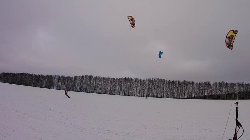 Snowkiting start 2020