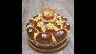 СВАДЕБНЫЙ КАРАВАЙ/Весільний коровай/Karavai/Korovai (Wedding loaf)